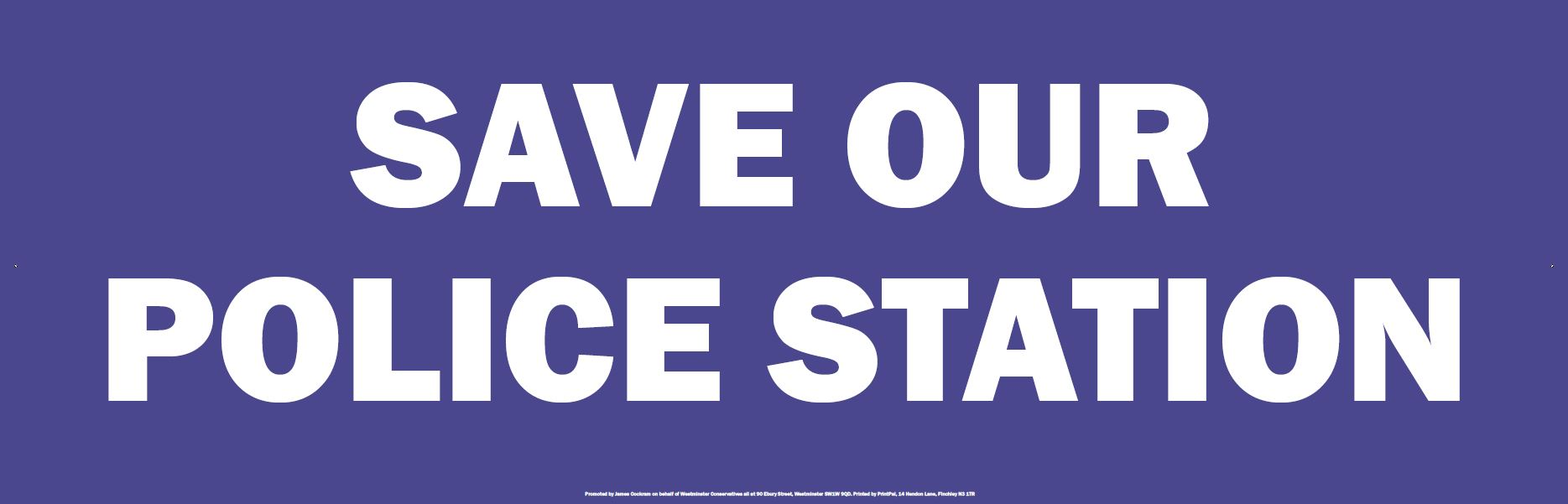 save our police station