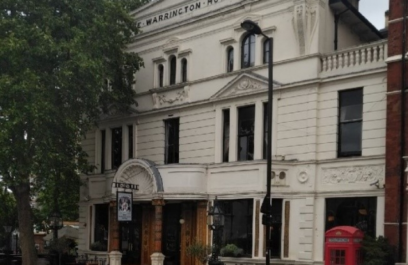 Warrington Pub