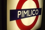 Pimlico Station Sign